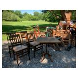 Stakmore folding chairs