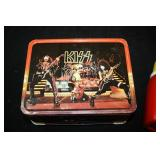 VINTAGE KISS LUNCH BOX