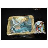 CLASH OF THE TITANS METAL LUNCH BOX