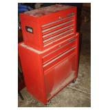 CRAFSTMAN CHEST ON CHEST TOOL CABINET
