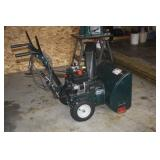 "ELECTRIC START  5.0 HP 24 "" SNOW BLOWER"