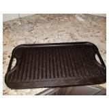CAST IRON DUAL GRIIDLE