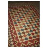 HAND KNOTED WOOL RUG