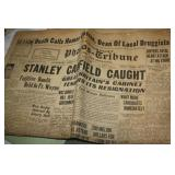 VINTAGE NEWSPAPERS