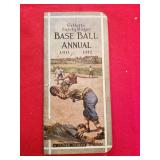 RARE 1911 GILLETTE BASEBALL ANNUAL