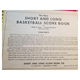 RICHARD CARR COACH BASKETBALLSCORE BOOK ~ LOGANSPORT , INDIANA