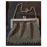 GERMAN SILVER CHAIN PURSE