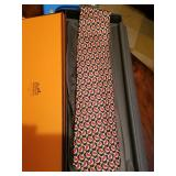 GUCCI AND HERMES NECK TIES