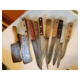VINTAGE BUTCHER KNOVES