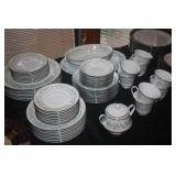 NORITAKI CHINA SET SAVANNAH PATTERN