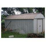 13.5 X 10 ALUMINUM SHED ~ YOU MOVE