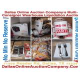 Monthly Multi-Consignor Warehouse Liquidation Auction