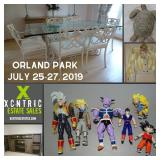 XCNTRIC ESTATE SALES PHASE 1 UPSCALE+COLLECTIBLES  ORLAND PARK SALE JULY 25-27, 2019