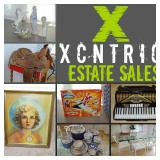 XCNTRIC ESTATE SALES PHASE 2 UPSCALE+COLLECTIBLES ORLAND PARK SALE AUG 8-10, 2019