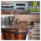 XCNTRIC ESTATE SALES MANCAVE + TRAIN COLLECTOR TINLEY PARK ESTATE SALE JAN 16-18, 2020