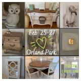 XCNTRIC ESTATE SALES JAM PACKED ORLAND PARK ESTATE SALE FEB 25-27, 2021