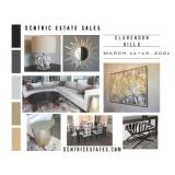 XCNTRIC ESTATE SALES GORGEOUS LUXURY HOME CLARENDON HILLS ESTATE SALE MAR 11-13, 2021