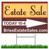 Franklin Park Estate Sale - 75% Off Sunday! Vintage Furniture & Home Decor, Useful Household Items
