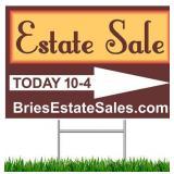 Northbrook Estate Sale - 75% Off Sunday! Vintage Furniture, Decor, Tools, Photo Equipment