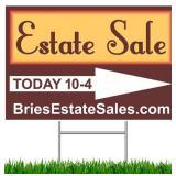Sugar Grove Estate Sale - 75% Off Sunday! Vintage Furniture & Home Decor, Collectibles, More