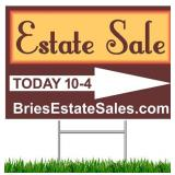 Chicago Belmont Heights Estate Sale - 90% Off Monday Madness! Rocks, Furniture, Decor & More
