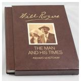 """ Will Rogers, The Man and His Times""  by Richard M. Ketchum  Deluxe Edition 1973"