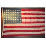 Large Vintage 1940's 48 Star Flag (4' x 6')
