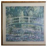 """""""Water Lilies"""" by Claude Monet Framed Print 30"""" x 30.5"""""""