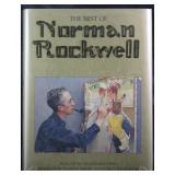 """""""The Best of Norman Rockwell""""  1988 Coffee Table Book"""