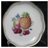 "Schumann Arzberg Germany Fruit Plate w/ Fruit, 8"""