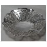 "International Silver Company ""Lovelace"" Footed bonbon Bowl"