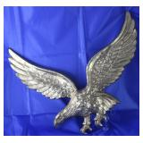Large Brass Eagle Wall Plaque