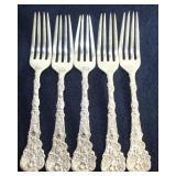 """Gorham Sterling """"Versailles"""" Salad forks"""