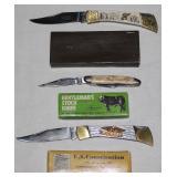Vintage Knives in original boxes