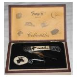 Fury Collectibles Knife and Key Chain Boxed Set