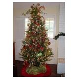 Pre Lite 8' Christmas Tree