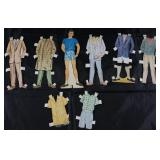 "Vintage Paper Dolls Made in USA with Clothes:  ""Dad"""