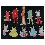 "Vintage Paper Dolls Made in USA with Clothes:  ""Pepper"""