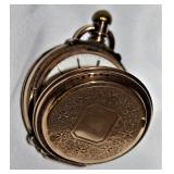 Antique Illinois Watch Co/Brooklyn Watch Co.  14KG/8KG Filled Pocket Watch. Engraved Watch Case