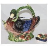 "Spode ""Harvest"" Mallard Tea Pot"