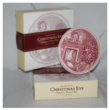 "William-Sonoma: Joshua Wedgwood ""Christmas Eve"" Dessert Plates (set of 4) 2 sets"