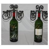 Paris Millennium (2000) 1998 Bordeaux Bottle 4-Light Candelabra