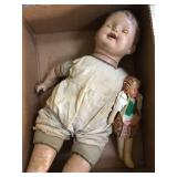 antique baby doll (needs TLC)