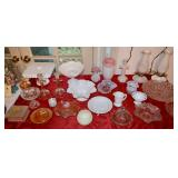 Milk Glass and other Vintage Glass