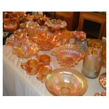 TONS of Carnival Glass