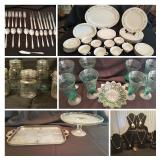 Vintage Jars, Jewelry, China and More- Bidding ends 5/25