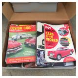 Vintage Hot Rod magazines