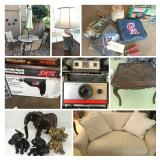 ONLINE AUCTION IN ORANGE - BIDDING ENDS WEDNESDAY, AUGUST 12TH!