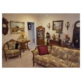 50% OFF! UNBELIEVABLE UPSCALE COLLECTION OF FINE ANTIQUES, CLOCKS, ART GLASS, TIFFANY LAMPS & MORE!