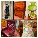 Incredible Burleson, TX Estate Sale! Fine Furnishings, Antiques, Bronze Statuary, Tools, Art, Appliances, Cowboy Boots, Jewelry & Much More!